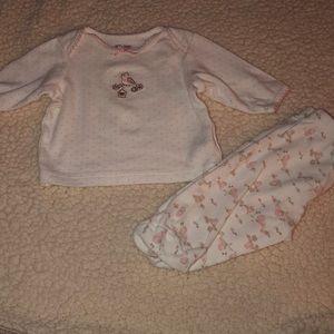 Matching set newborn outfit